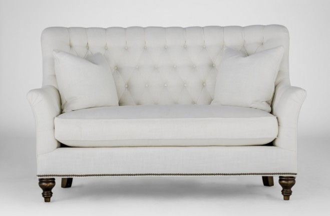 abbey settee french loveseat gabby tailored