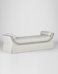 Gayle Queen Bench | Custom Tailored