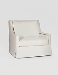 Helena Swivel Chair | Custom Tailored