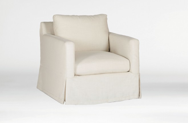 Hayes Slip Cover Chair   Custom Tailored