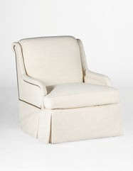 Charleston Swivel Chair | Custom Tailored