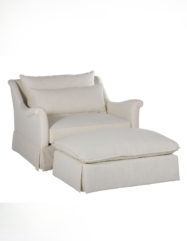 Winslow Chair & 1/2 Ottoman