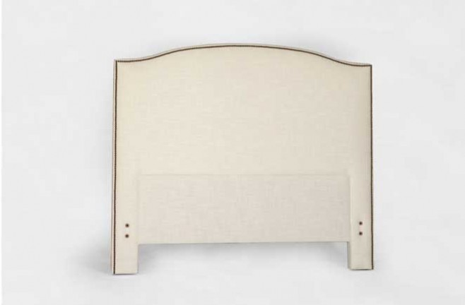 European Inspired Camel-back Headboard