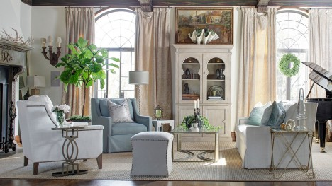 Eclectic Furniture, Transitional Vintage Style Furniture