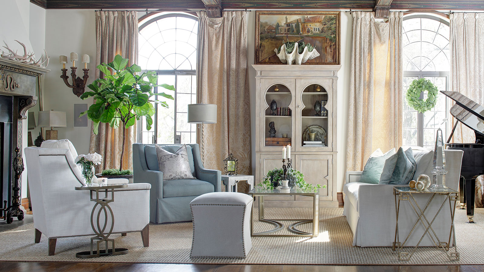 Reflections on transitional furniture style gabby - Easy transitional home design ...