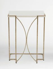Audrey- silver C table