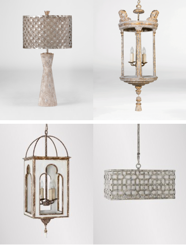 Eclectic Lighting with Layered Finishes