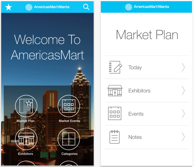 App for AmericasMart Atlanta Events and Exhibitors