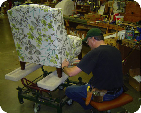 Tailored upholsterer