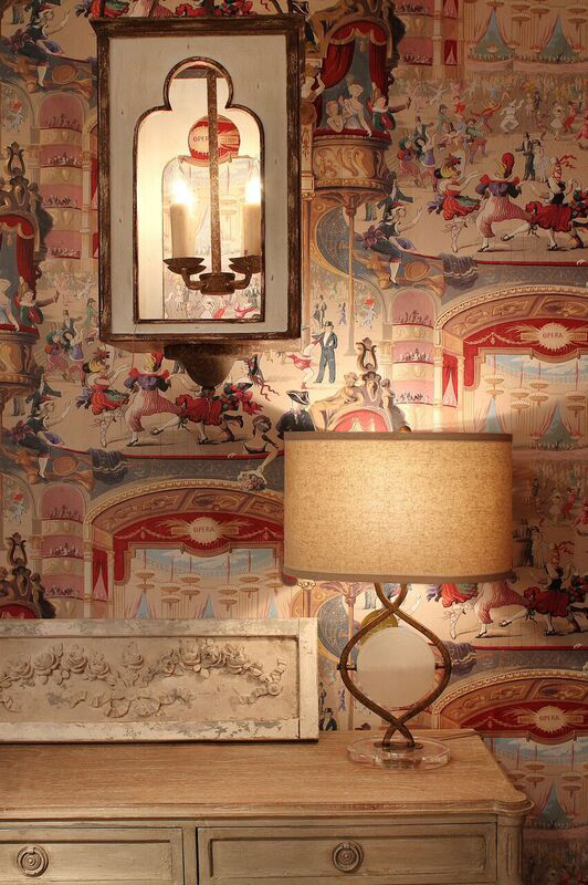 Thibaut wallpaper with Gabby copy