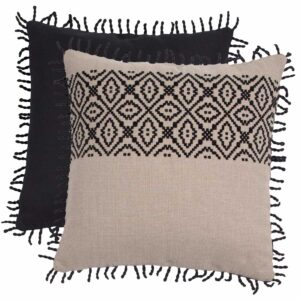 """Midnight With Linen Midnight Backing And Midnight 2"""" Rope Loop Trim"""
