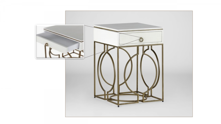 Cedric Side Table | Gabby