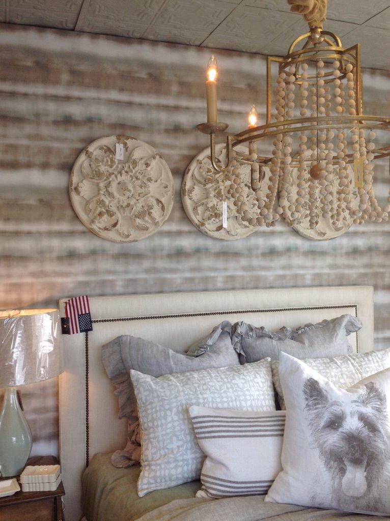Maison Warehouse In Sterling, Virginia Offers 4,000 Square Feet Of Furniture  And Accessories. Shown Here: Gabby Custom Headboard And Sonya Chandelier.