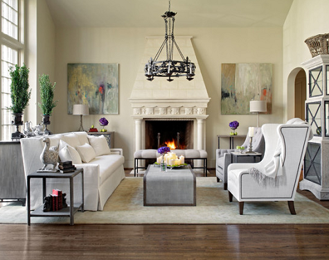 Living Room Source Houzz Via Gabby