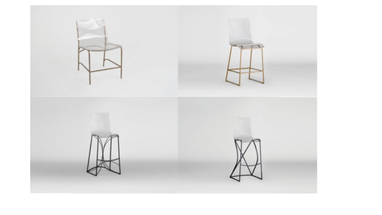 Lucite Chairs | Gabby