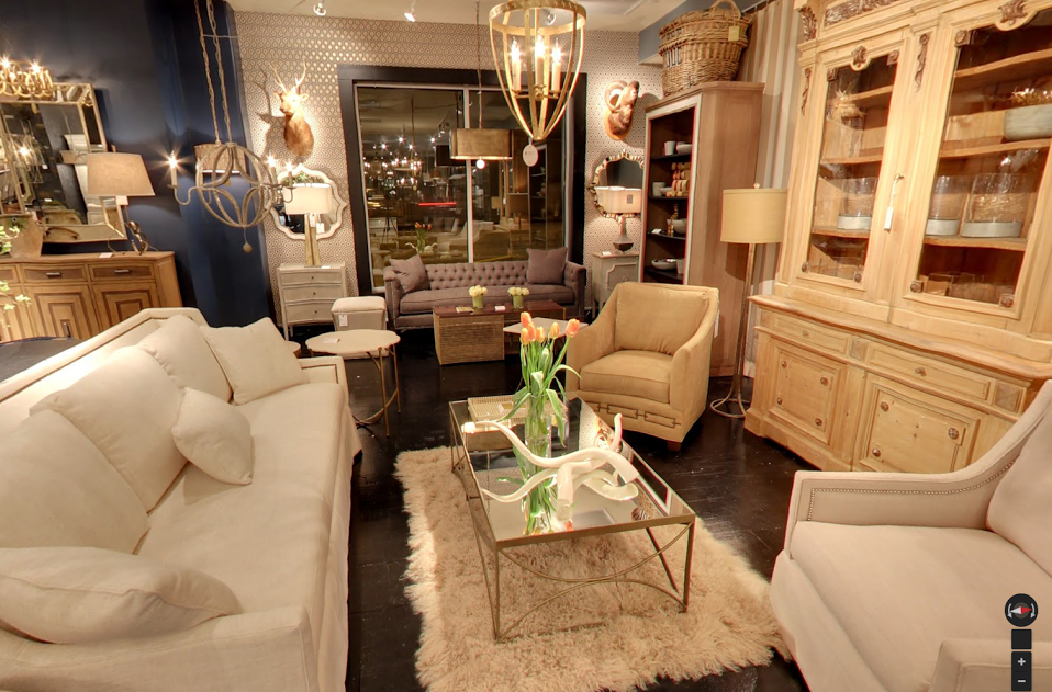furniture showrooms at High Point Market