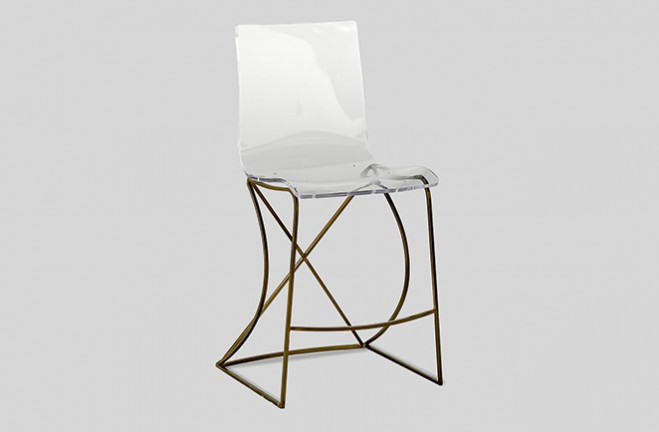 Transparent Acrylic Counter Stool Johnson By Gabby