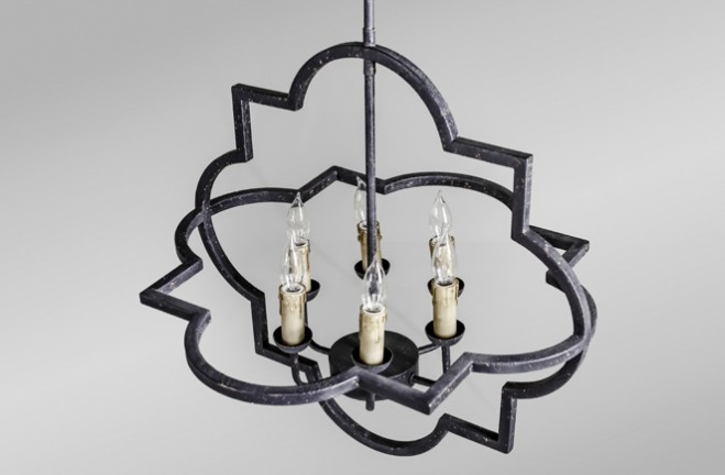 Large rustic metal chandelier athena by gabby aloadofball Image collections
