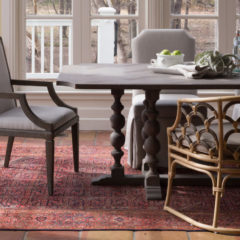 Elements Of A Transitional Dining Room