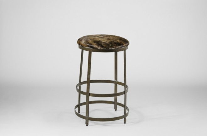 "Simpson 26.5"" Counter Height Stool - Brown"