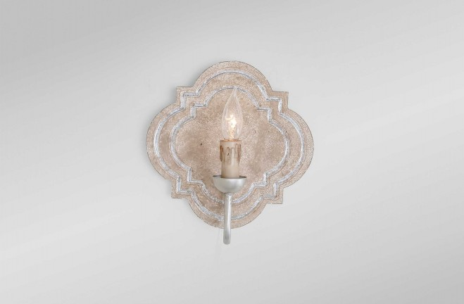 Irving Sconce - Silver