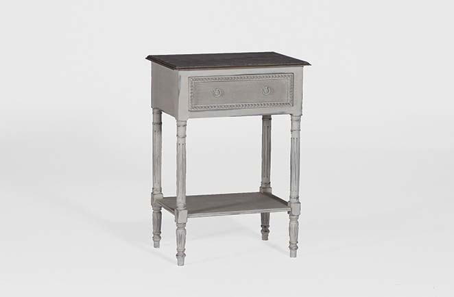Antique French Reproduction Furniture - Antique French Reproduction Furniture Carine Side Table