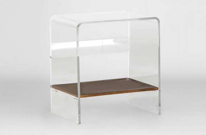 Lucite End Table Sloan Waterfall Table Gabby