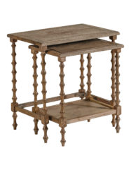 Lionel Oak Nesting Tables