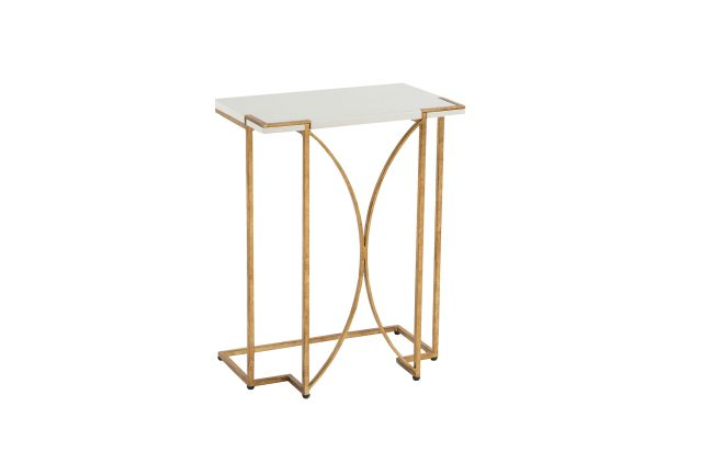 ... Metal C Table | Amber Gold C Table | Gabby ...