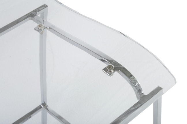 King 24 75 Quot Counter Stool Chrome Gabby