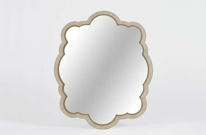Transitional Horn Mirror