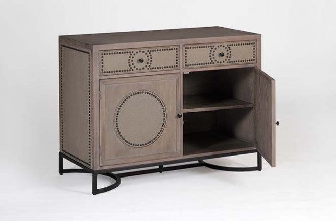 Vintage Style Media Cabinet Ludlow Cabinet Gabby