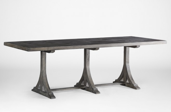 Retro Style Dining Table | Adams Table - Gabby