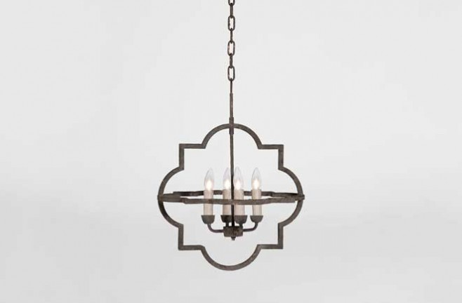 Transitional Athena Chandelier