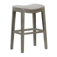 Vivian Bar Stool - Burnished Oak