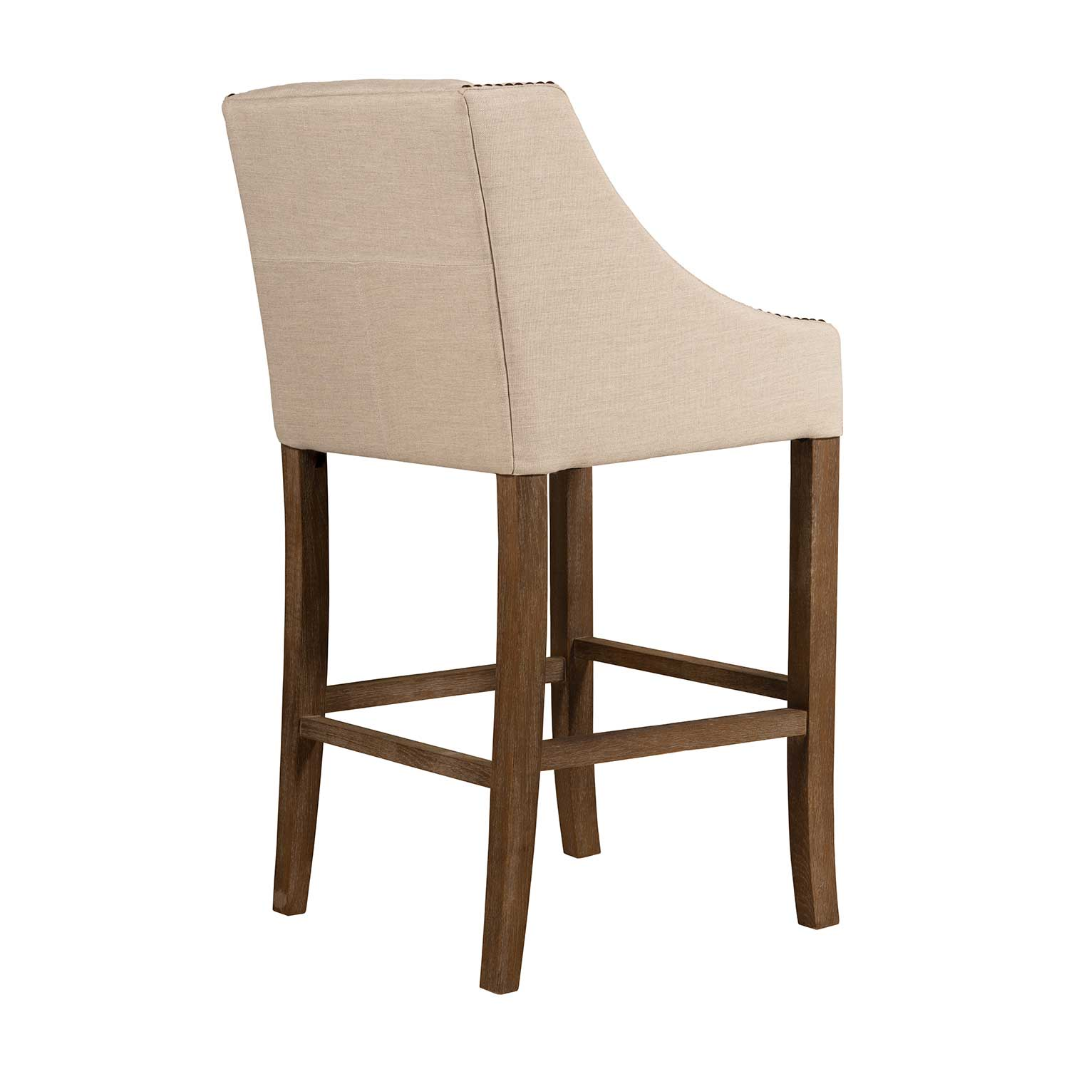 Winston 28 Bar Stool Burnished Oak Gabby