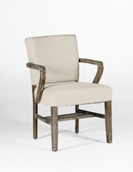 Wylie Arm Chair - Burnished Oak