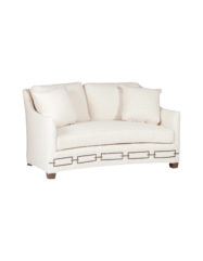 Baldwin Loveseat Settee | Custom Tailored