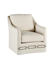 Baldwin Swivel Chair | Custom Tailored