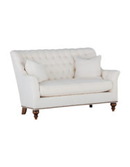 Abbey Loveseat Settee | Custom Tailored