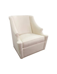 Lainey Swivel Chair | Custom Tailored