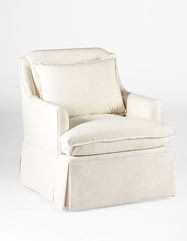 Bridgette Swivel Chair | Custom Tailored