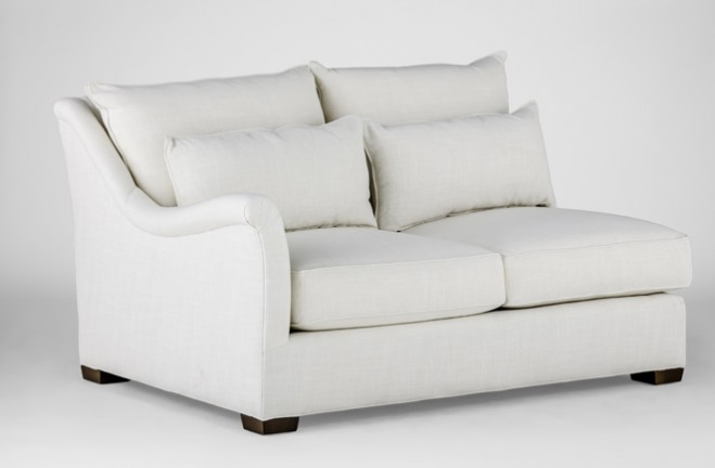 Westley Left Facing Loveseat | sectional sofa - Gabby