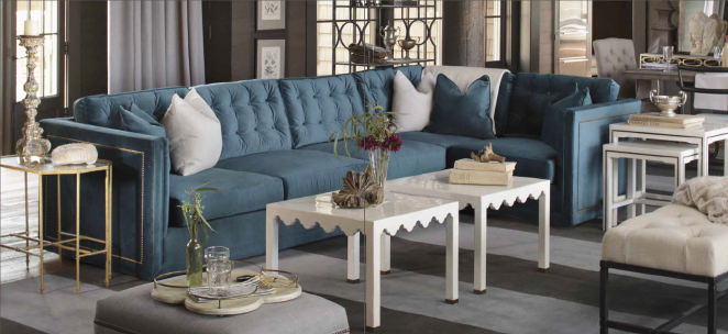 Abbott Sectional Sofa Custom Tailored