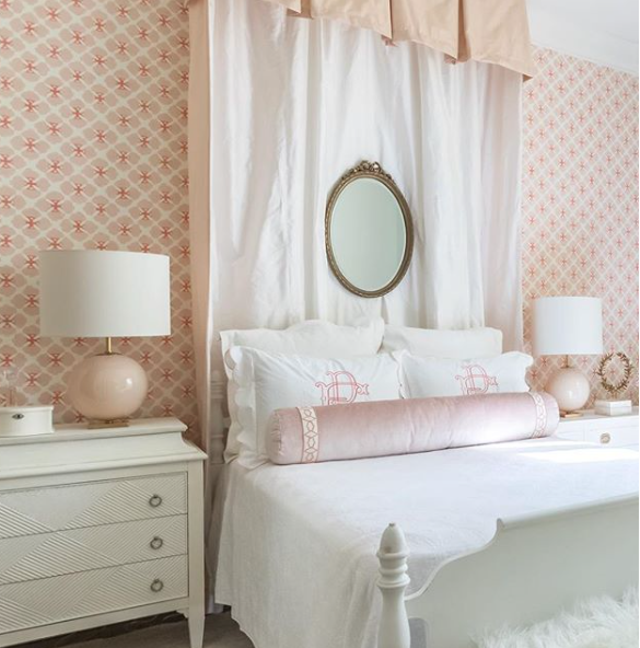 Girls Bedroom design by Betsy Mosby Interiors