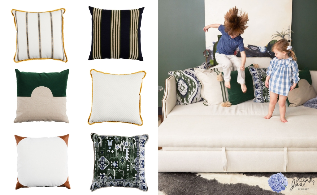 Wendy Jane By Gabby Pillows | High Point Market