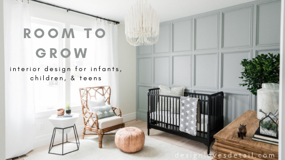 7 Inspiring Kid Room Color Options For Your Little Ones: Around The Home With Gabby: Stylish Kids' Bedroom