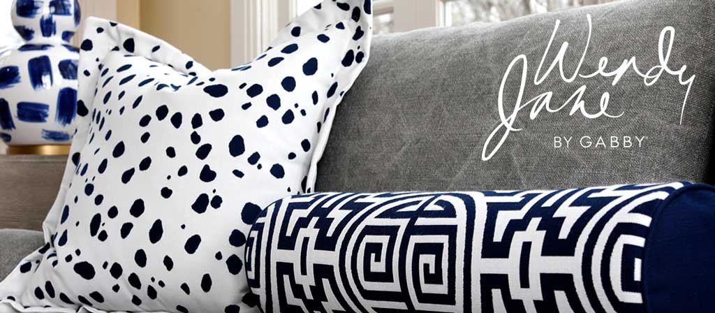 Decorative Throw Pillows by Wendy Jane